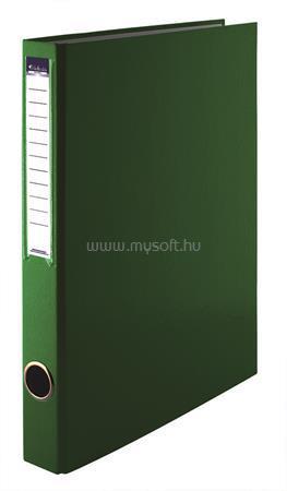 VICTORIA Gyűrűs könyv, 2 gyűrű, 35 mm, A4, PP/karton, zöld