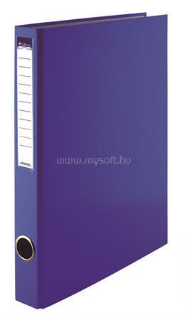 VICTORIA Gyűrűs könyv, 4 gyűrű, 35 mm, A4, PP/karton, kék