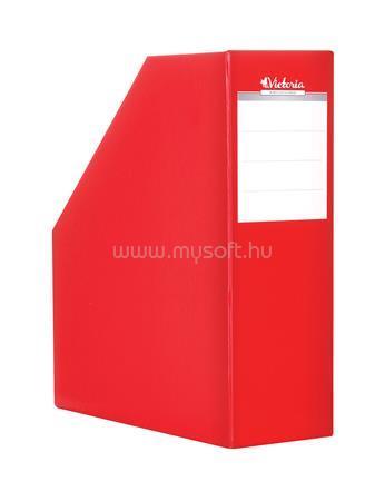 VICTORIA Iratpapucs, karton, 90 mm, piros