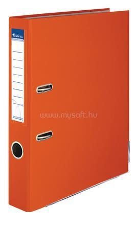 """VICTORIA Iratrendező, 50 mm, A4, PP/karton, élvédő sínnel, """"Basic"""", narancs"""