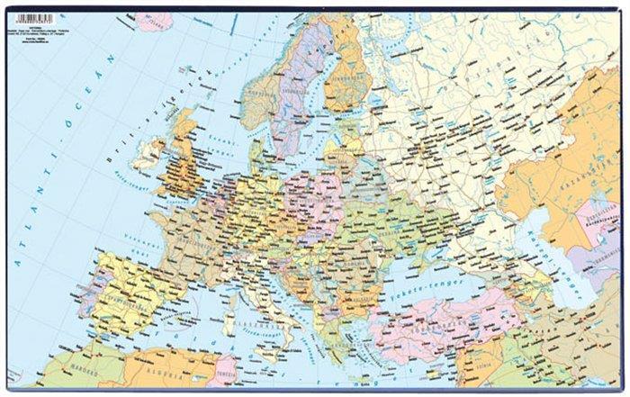 """VICTORIA Könyökalátét, """"Európa közigazgatása"""""""