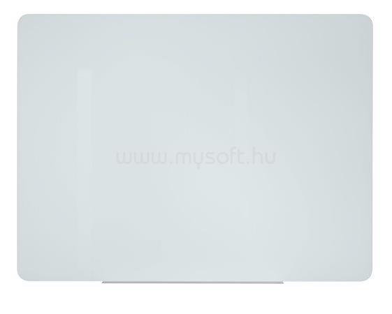 VICTORIA Mágneses üvegtábla, 150x120 cm, fehér