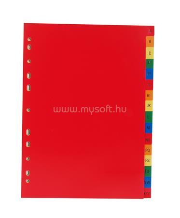 VICTORIA Regiszter, műanyag, A4, A-Z, színes