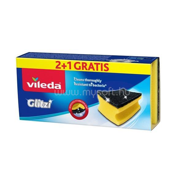 VILEDA Glitzi kristály súrolószivacs 2 db-os