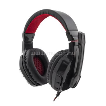 WHITE SHARK PANTHER gaming fejhallgató (fekete)