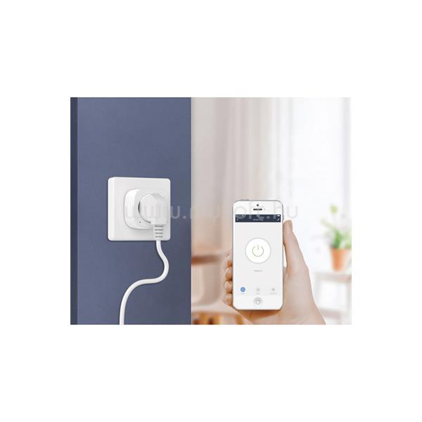WOOX Smart Home Dugalj - R4152 (230V, 16A, időzítő, Wi-Fi, távoli elérés)