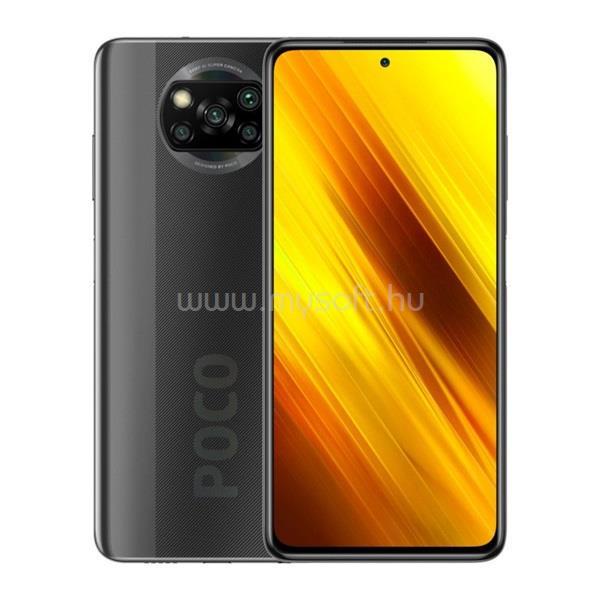 """XIAOMI Pocophone X3 6,67"""" LTE 6/128GB Dual SIM szürke okostelefon"""