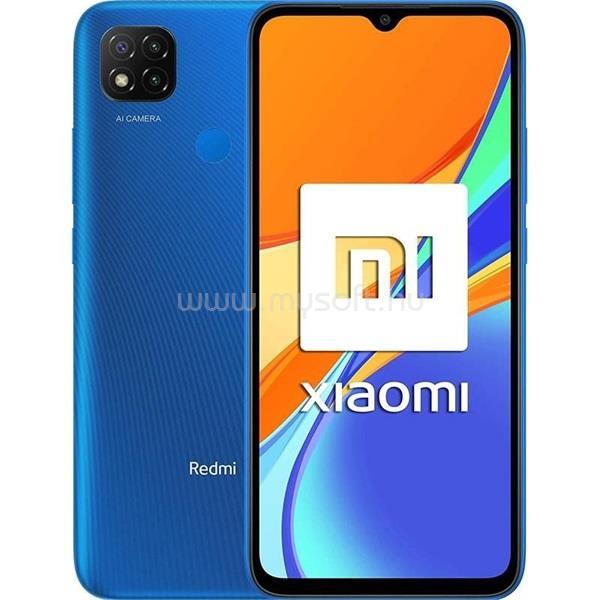 "XIAOMI Redmi 9C 6,53"" LTE 2/32GB Dual SIM kék okostelefon"