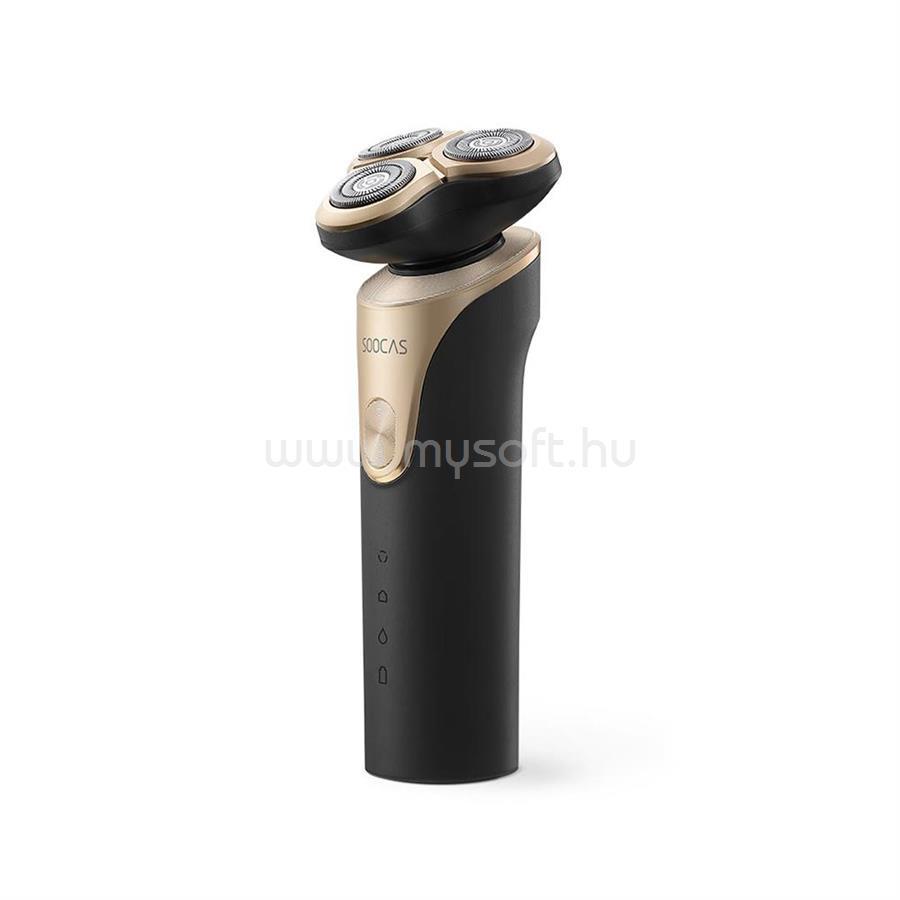 XIAOMI Soocas S3 elektromos borotva (fekete)