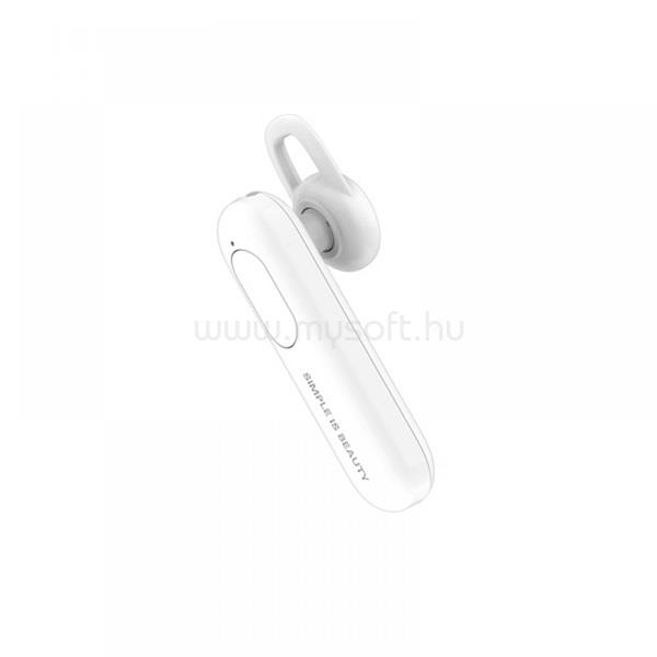 XO BE04 Bluetooth fehér headset