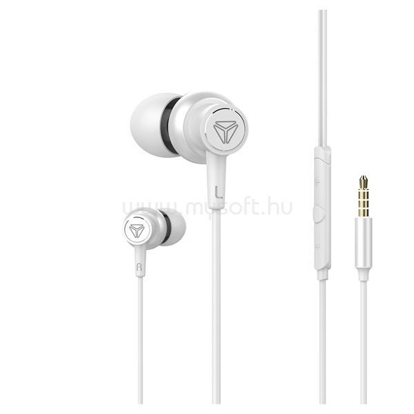 YENKEE YHP 205WE Hi-Res/fehér/fülhallgató headset