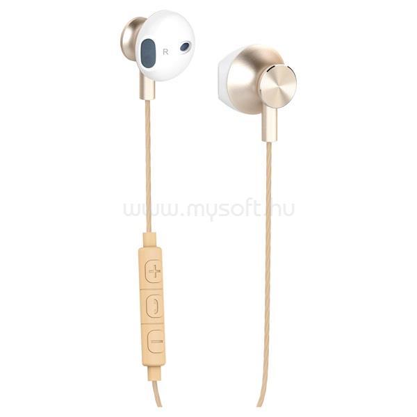 YENKEE YHP 305GD/arany/fülhallgató headset