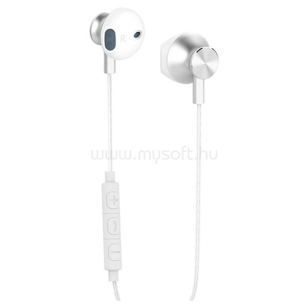 YENKEE YHP 305WE/fehér-ezüst/fülhallgató headset